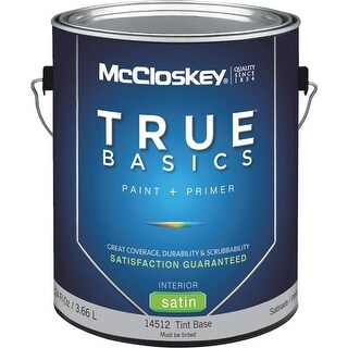 McCloskey Int Sat Tint Bs Paint
