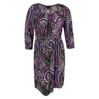 INC International Concepts Women's Paisley Print Dress