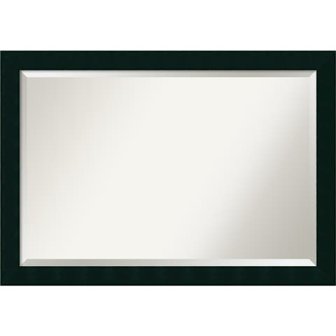 Wall Mirror Extra Large, Tribeca Black 40 x 28-inch - extra large - 40 x 28-inch