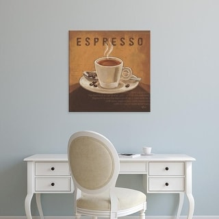 Easy Art Prints Janelle Penner's 'Coffee and Co III' Premium Canvas Art