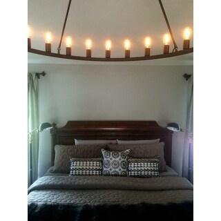 The Gray Barn Hemsworth 24-light Chandelier