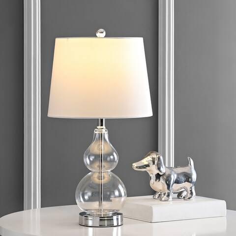 "SAFAVIEH Lighting 22"" Brisor Table Lamp (Set of 2) - 12"" W x 12"" L x 22"" H"