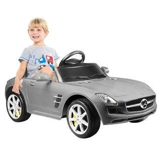 Mercedes-Benz SLS AMG Licensed 6V Kids Ride On Car MP3 RC Remote Control