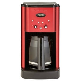 Cuisinart DCC-1200MR Brew Central Programmable Coffeemaker, 12 Cup