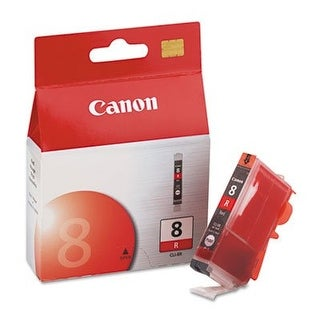 Ink Cartridge, Cli-8 Red, Canon