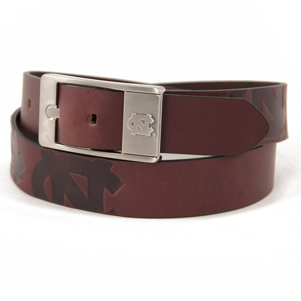 University of North Carolina Brandish Leather Belt