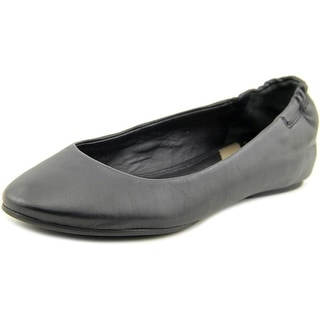 Via Spiga Jaden Round Toe Leather Ballet Flats