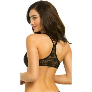 Back Up Black Racerback Bra, Black Lace Bra (Option: 34a) https://ak1.ostkcdn.com/images/products/is/images/direct/60613853b4633b593e866cdb9606868a11c4e39f/Back-Up-Black-Racerback-Bra%2C-Black-Lace-Bra.jpg?impolicy=medium