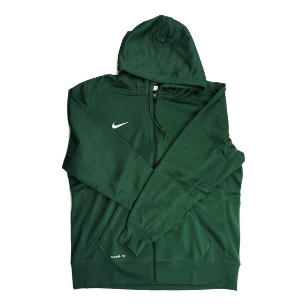 52228b3ce5d9 Shop Nike Therma-FIT Men s Green Full Zip Training Hoodie - 2X Large - Free  Shipping Today - Overstock - 21704736