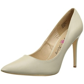 Penny Loves Kenny Womens Opus Faux Leather Dress Pointed Toe Heels