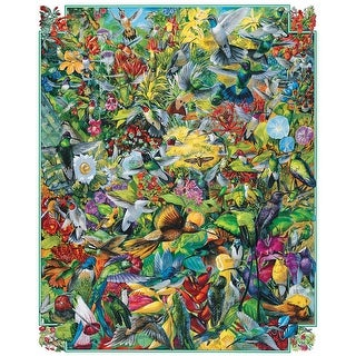 "Hummingbirds - Jigsaw Puzzle 1000 Pieces 24""X30"""