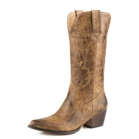 Roper Fashion Boots Womens Nettie Tan