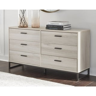 Link to Socalle Natural Brown Dresser Similar Items in Dressers & Chests