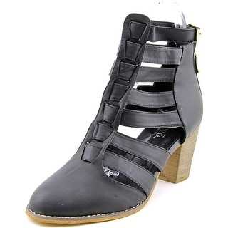Bucco Capensis Cornis Women  Round Toe Synthetic  Ankle Boot