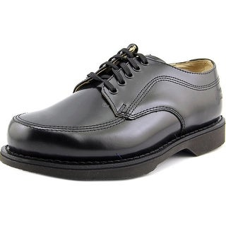 Work America Service Oxford 6E Round Toe Leather Oxford