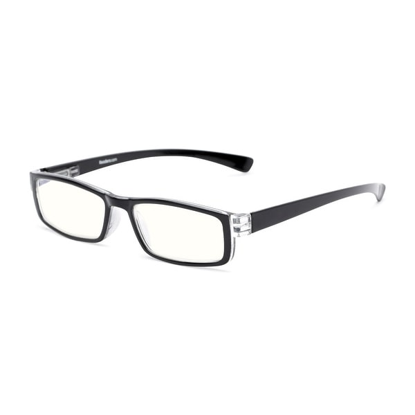 Readers.com The Pike Place Blue Light Reader Rectangle Reading Glasses. Opens flyout.