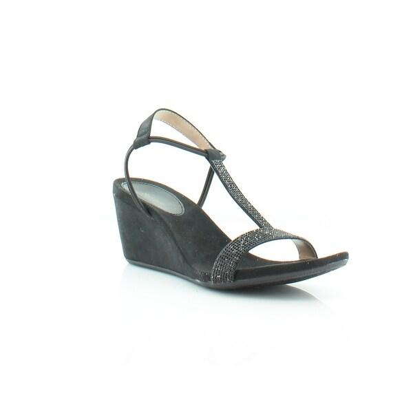 Style & Co. Mulan2 Women's Sandals & Flip Flops Black