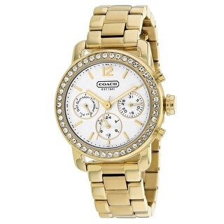 Coach Women's Legacy Sport 14501883 White Dial watch