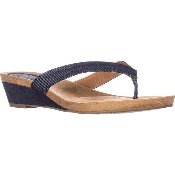 Style & Co. Womens Halo Open Toe Casual Slide Sandals
