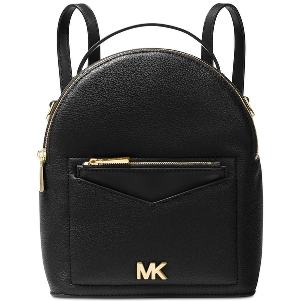 c15b21b032f7 MICHAEL Michael Kors Jessa Small Convertible Leather Backpack Black - One  Size