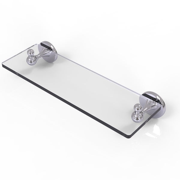 Allied Brass Shadwell Collection Glass Vanity Shelf with Beveled Edges