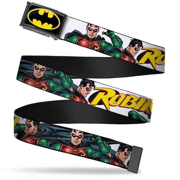 Batman Fcg Black Yellow Chrome Robin Red Green Poses White Webbing Web Web Belt