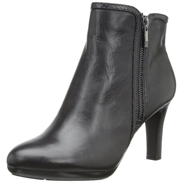 AK Anne Klein Women's Caelina Ankle Boots