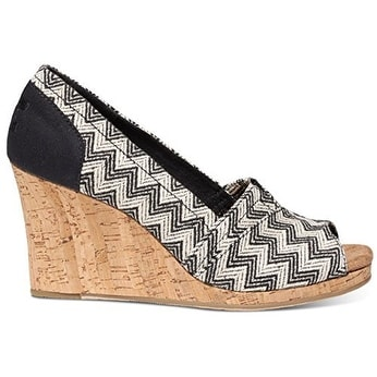 TOMS Women's Classic Wedge Cork Wedgr