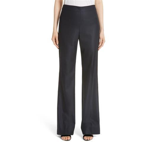 St. John Womens Bird's Eye Casual Trouser Pants