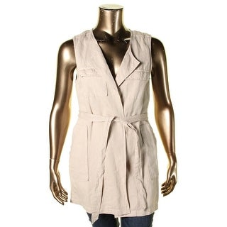 Sanctuary Womens Duster Top Sleeveless Vest