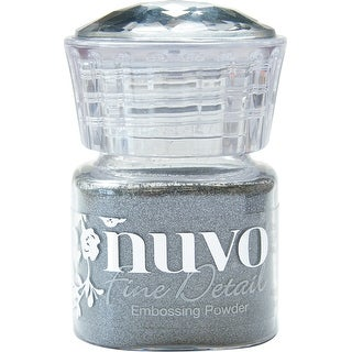Nuvo Embossing Powder Fine Detail .68Oz-Classic Silver