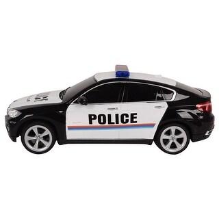 Costway BMW X6 Licensed Electric Radio Remote Control RC Police Car