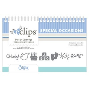 Special Occasions New Sizzix Eclips Design Cartridge