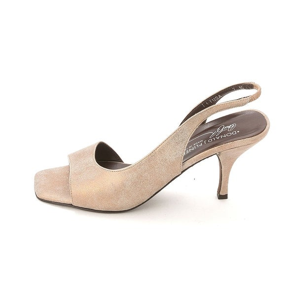 Donald J Pliner Womens Tusa Peep Toe Formal Slingback Sandals - 7