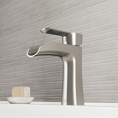 Paloma 1-handle Waterfall Vessel Bathroom Sink Faucet