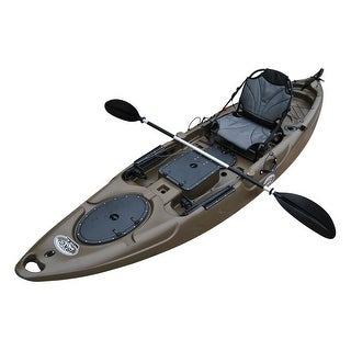 BKC UH-RA220 11-Foot 6-inch Angler Sit On Top Fishing Kayak (More options available)