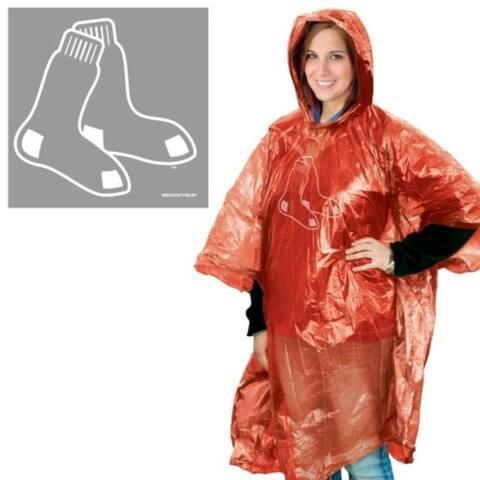 Boston Red Sox Rain Poncho