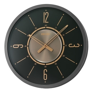"""Link to 20"""" Wall, BLACK IRON COLOR, GLASS FRONT, GOLD ACCENTS Similar Items in Decorative Accessories"""