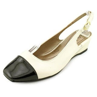 Soft Style by Hush Puppies Shirly WW Open Toe Synthetic Wedge Heel