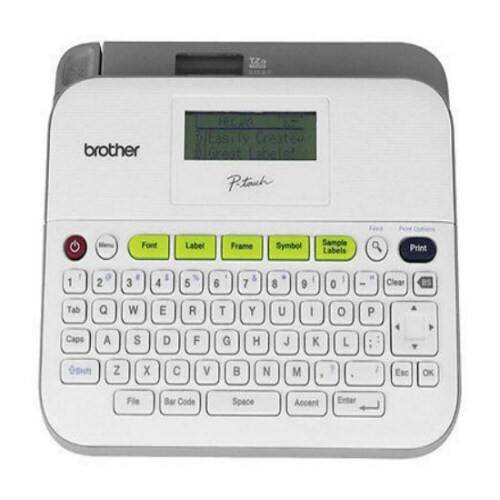 Brother Label Maker with AC Adapter PT-D400AD Label Maker with AC Adapter