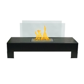 Gramercy (Black) Bio Ethanol Ventless Fireplace