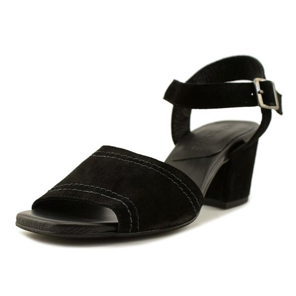 Sixtyseven 78501 Women Open Toe Synthetic Black Sandals
