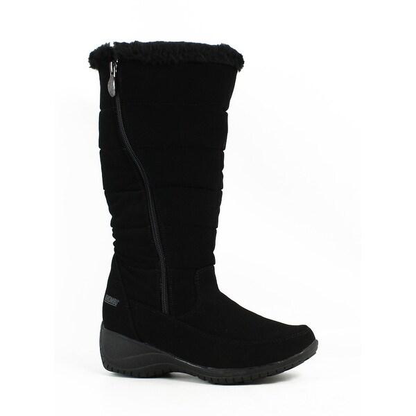2ad7ef1cb07 Shop Khombu Womens Abby-K-W Black Supple Snow Boots Size 6 - Free ...