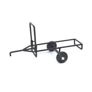 Little Buster Toy Heavy Duty Metal Cattle Chute Trailer Black 500207