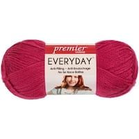Deborah Norville Collection Everyday Solid Yarn-Magenta