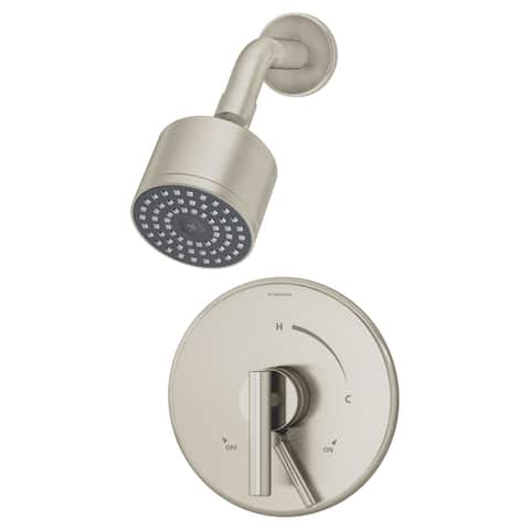 Symmons S-3501-CYL-B-1.5-TRM Dia Shower Only Trim Package with 1.5 GPM Single Function Shower Head