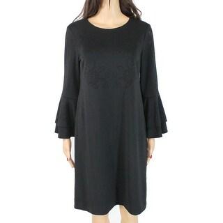 Shop Cece Womens Dress True Black Size 6 Sheath Bell