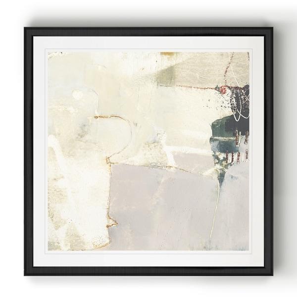 Pique IV -Black Framed Print. Opens flyout.