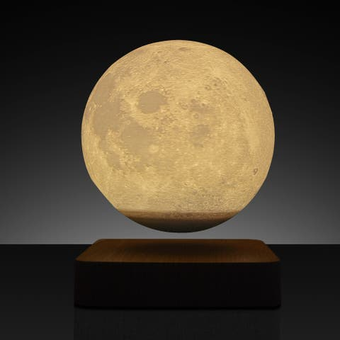 3D Levitating LED Moon Lamp Bedside Night lamp Touch Control - 6.8in