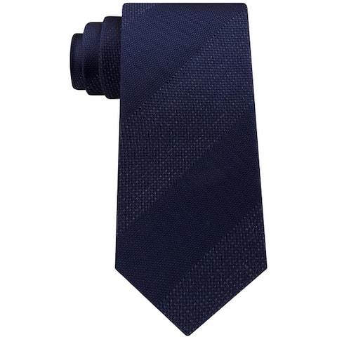 Kenneth Cole Mens Heather Bar Self-Tied Necktie - One Size